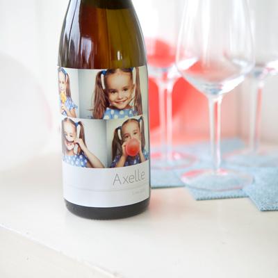 Étiquettes personnalisées pour bouteilles