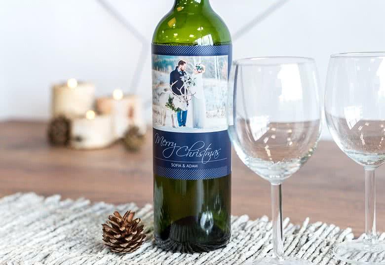 Étiquettes personnalisées pour bouteilles de vin