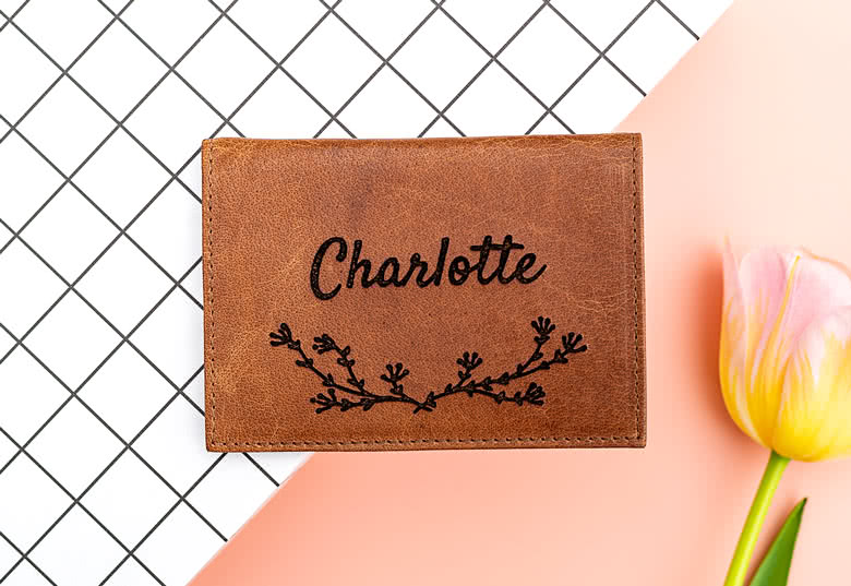 Make a Leather Card Holder