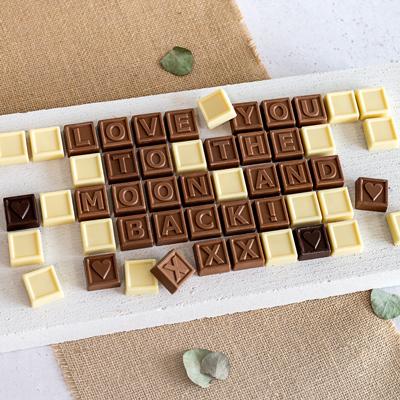 Chocolade telegram 30 stukjes