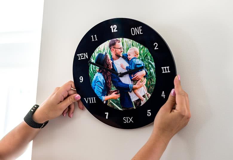 Commandez votre Horloge photo personnalisée