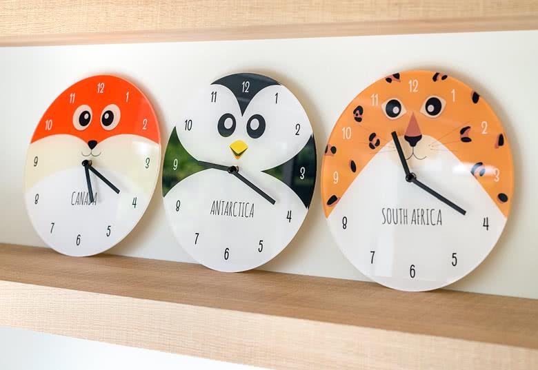 Créez une Horloge avec votre plus belle photo