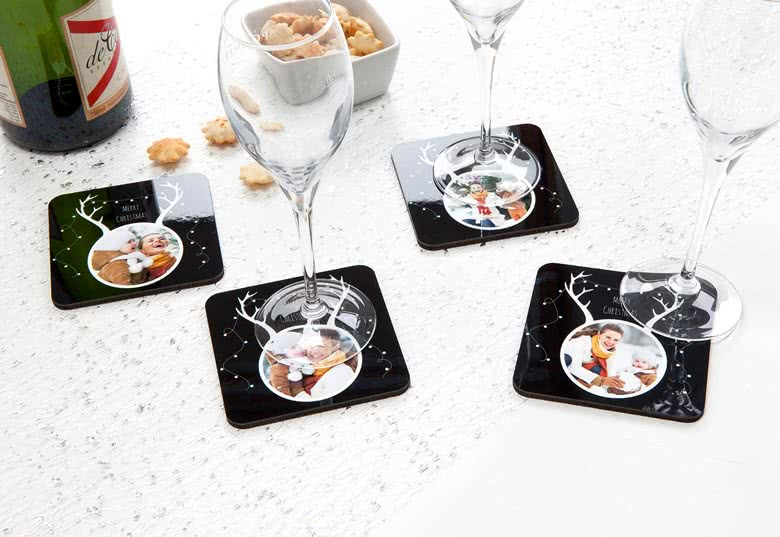 Set of Luxury Coasters