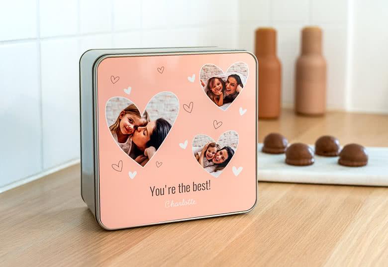 Je crée ma boîte à biscuits