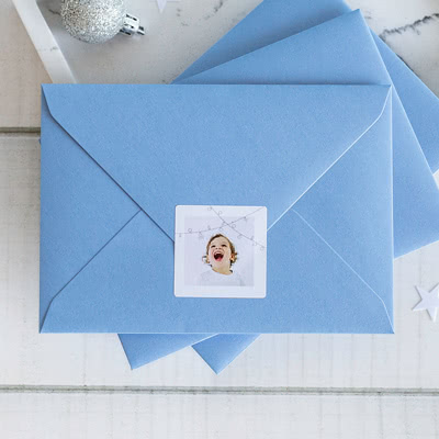 Envelop stickers Rond
