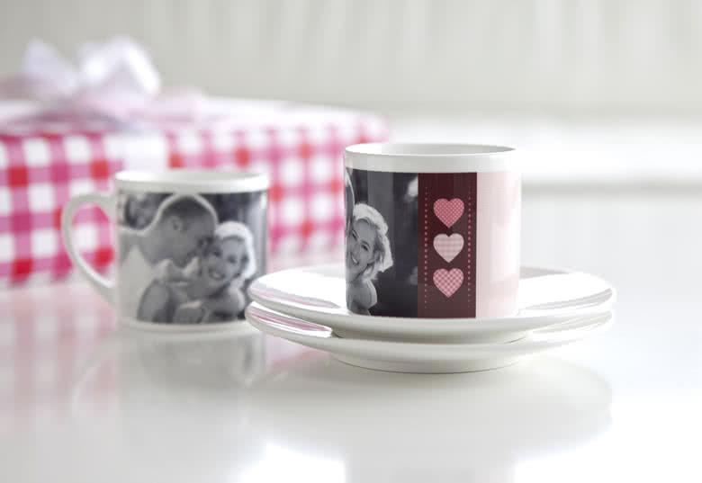 Lag et Kaffekoppsett