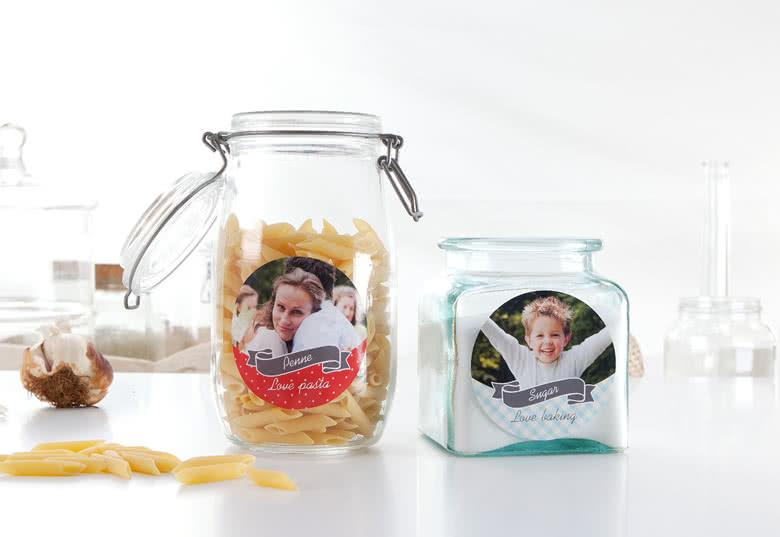 Créez des étiquettes à bocaux