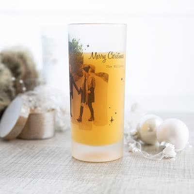 Drinkglas met foto