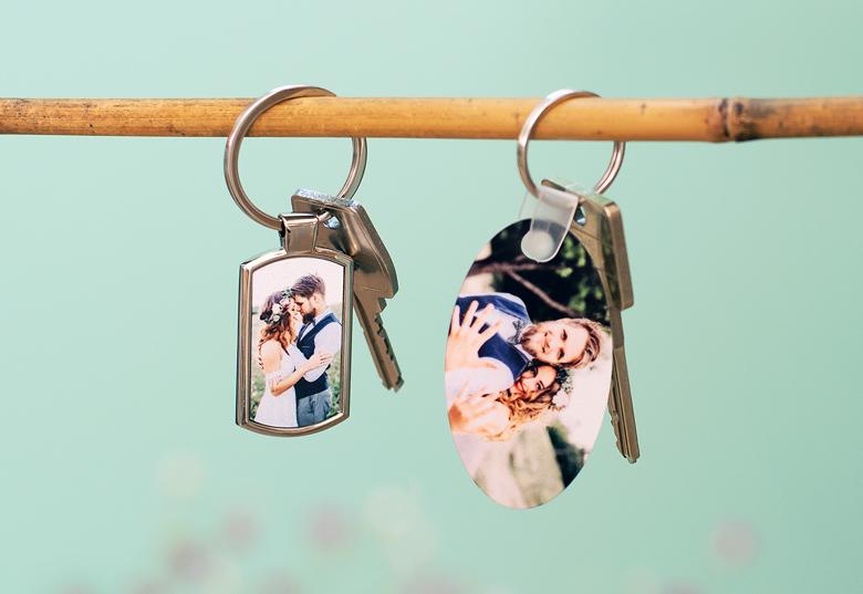 Je crée mon porte-clés photo