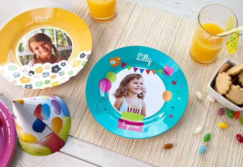 Personalised children's plate