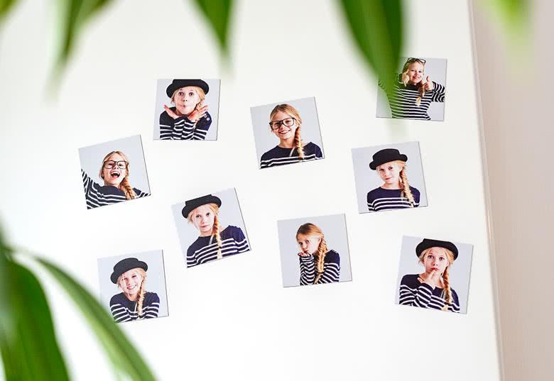 Je crée mon magnet photo souple