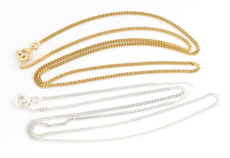 Matchande halskedja på 45 cm som tillval