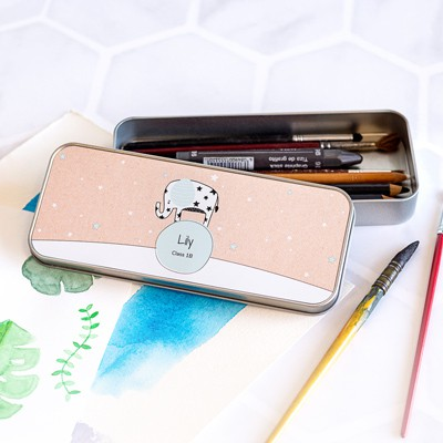 Tin box pencil case