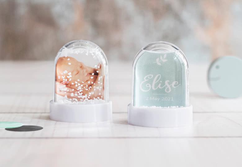 Mini snow globe - set of 12