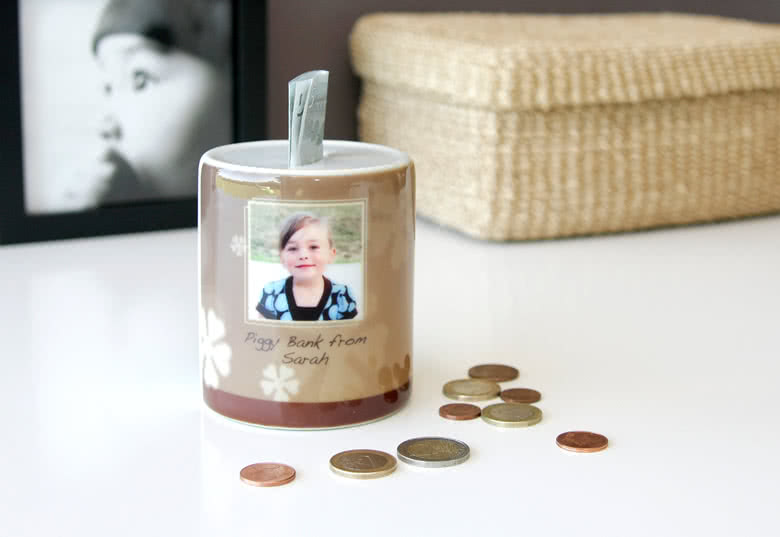 Design your own Piggy Bank for your savings