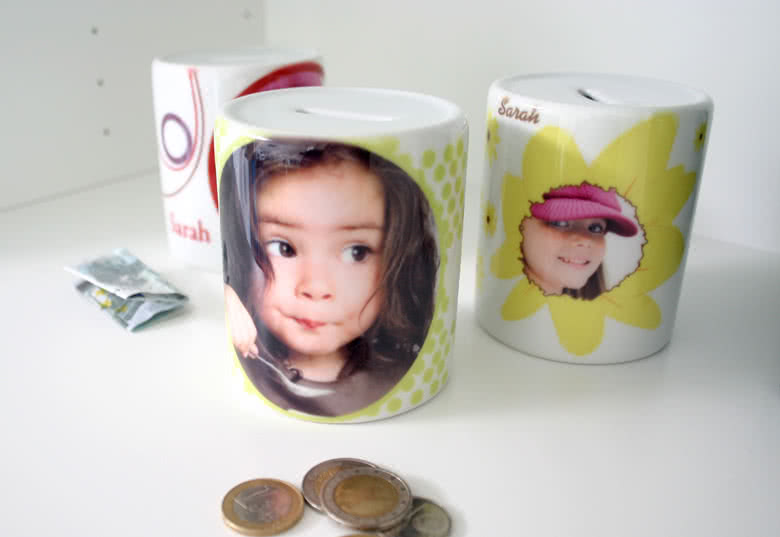 Start saving with your personalised Piggy Bank