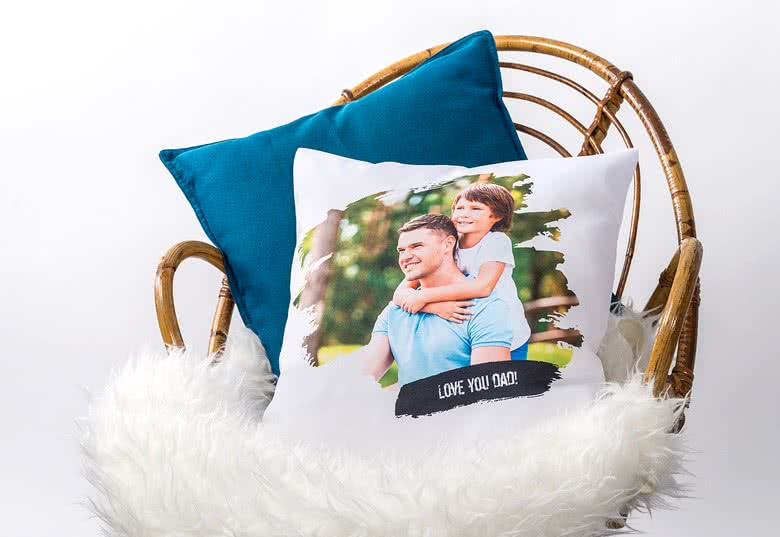 Create a few Photo Cushion for your kid