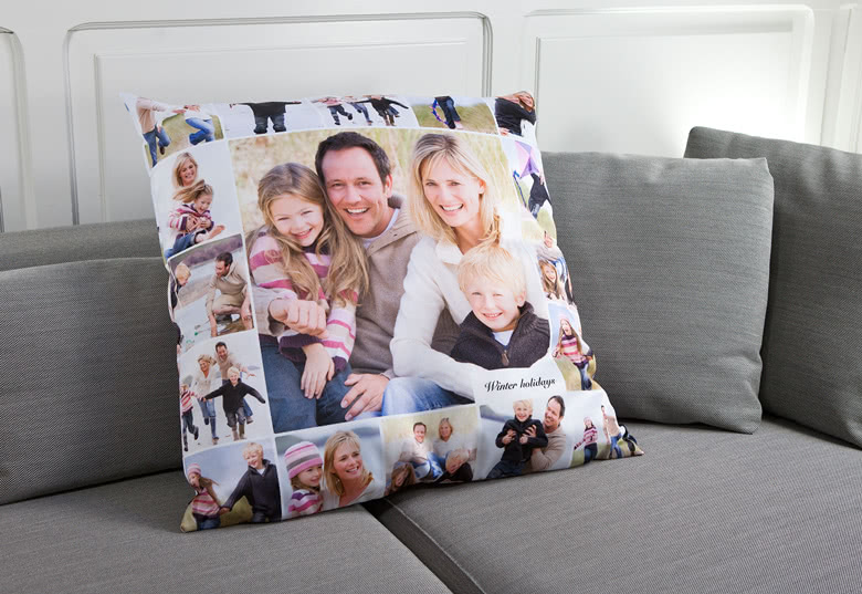 Create a Pillow with photo on front and back