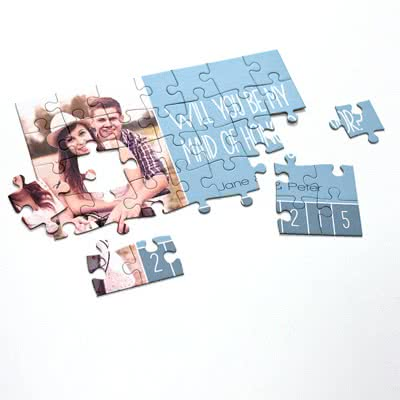 Create a Puzzle with photo