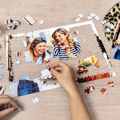 Fotopuzzel 24 stukjes A6 (hard karton)