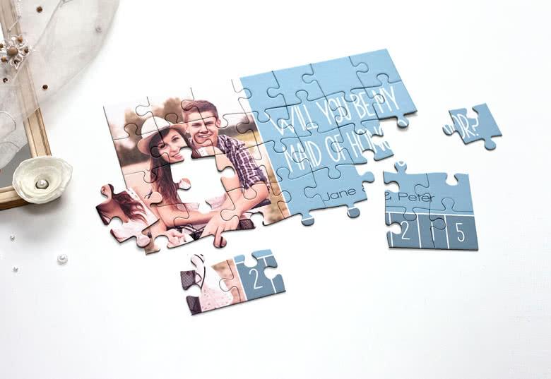 Personalisieren Sie Ihr Foto-Puzzle