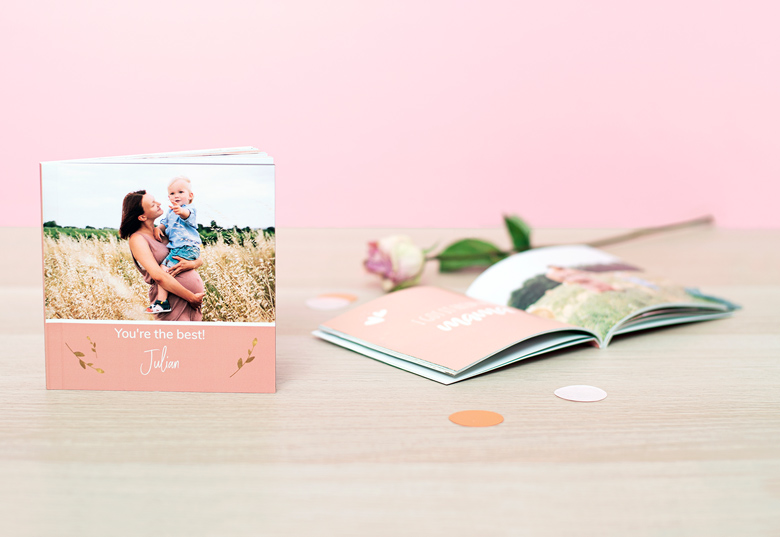 Mini Photo book with quotes