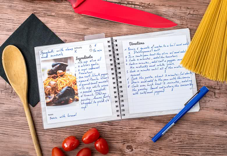 create your personalised recipe book with us today smartphoto