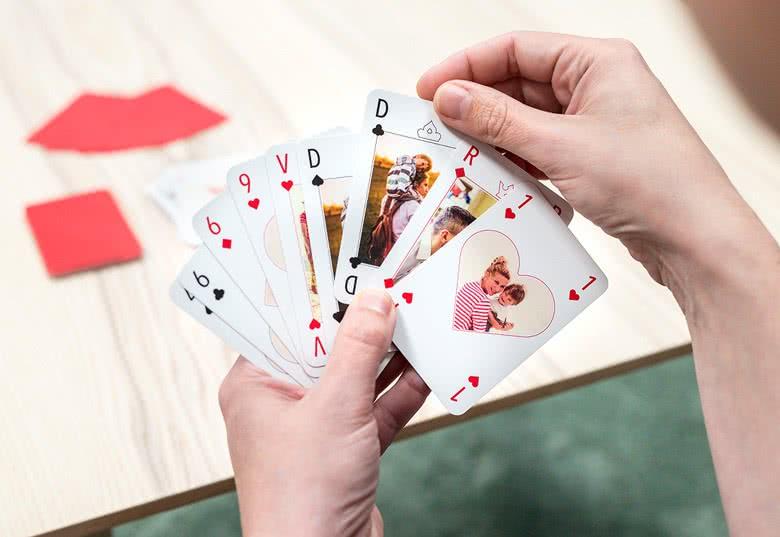 Gepersonaliseerde speelkaarten