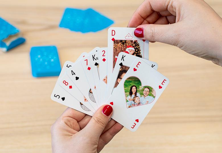 Personlige spillekort