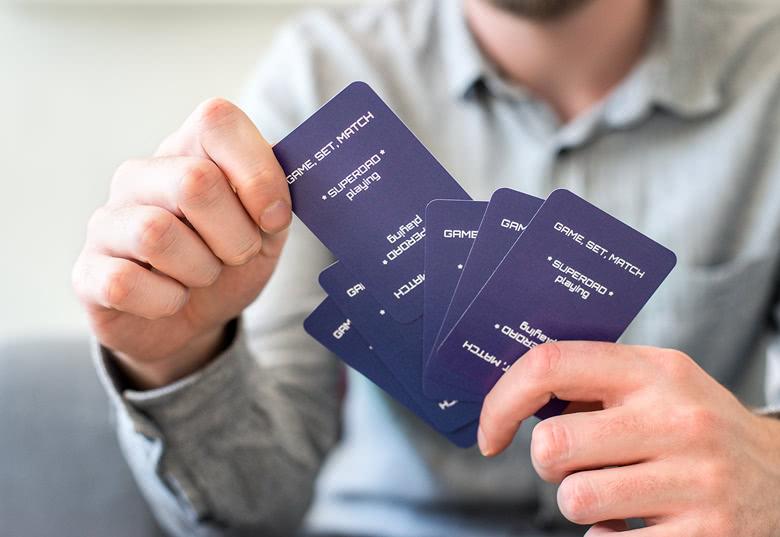 Gepersonaliseerde Speelkaarten met gepersonaliseerde achterkant