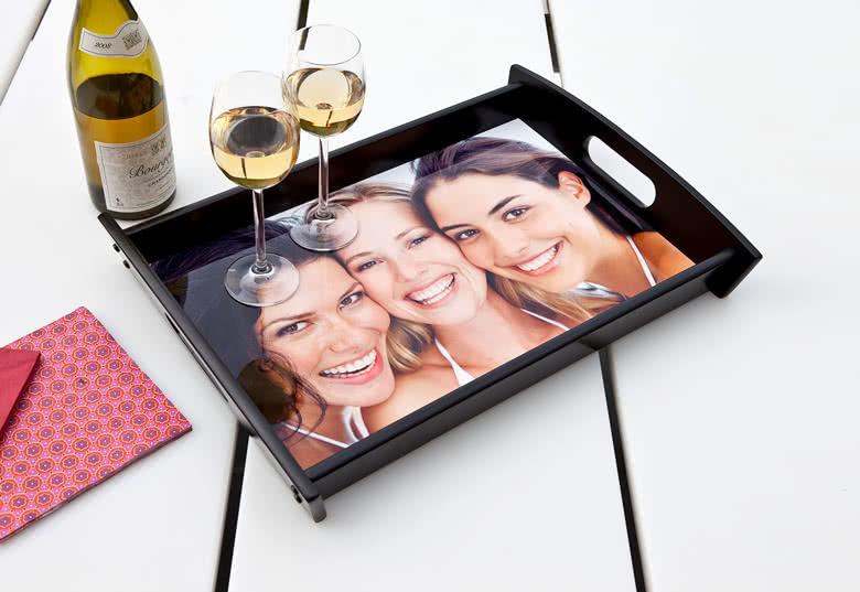 Servier-Tablett mit Foto bestellen