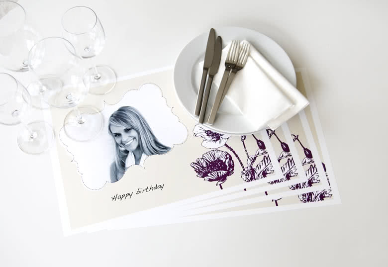 Visualization of the Set of Paper Placemats