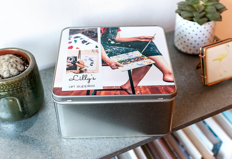 Create a Tin storage box