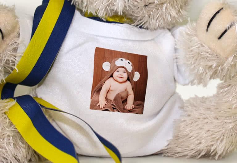 T-shirt med ditt foto tryckt på