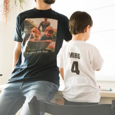 T-shirt kinderen zwart 3 - 4 jaar