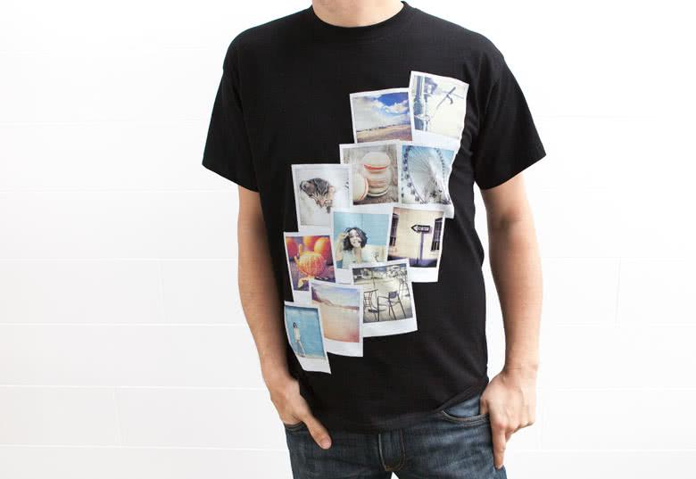 T-shirt personnalisé avec photo 7f4b853f99f