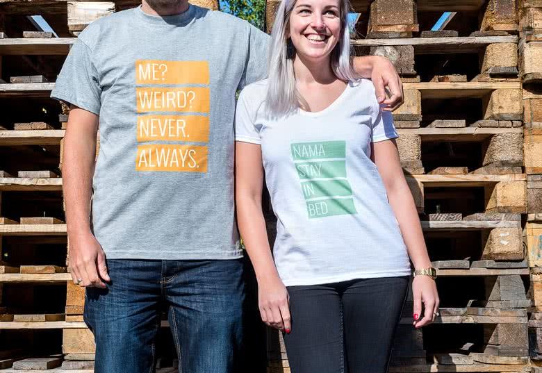 acheter pas cher vente au royaume uni profiter du prix le plus bas T-shirt personnalisé avec photo, tee shirt personnalisable