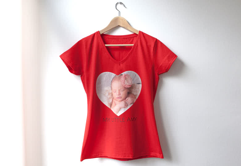 Create a T-shirt with photo