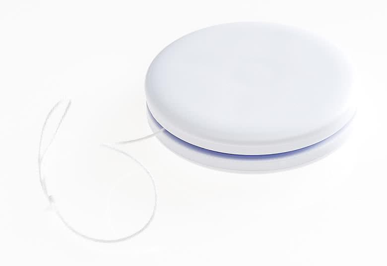 Hvite plastjojoer
