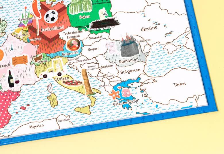 MyNameBook Europa Mädchen gestalten