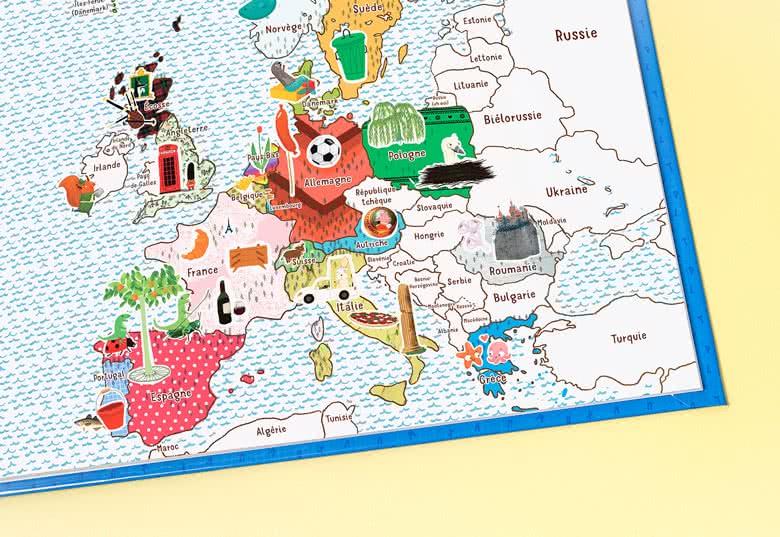 Créez votre livre MyNameBook Europe fille