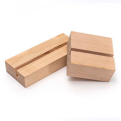Porte-photo design en bois