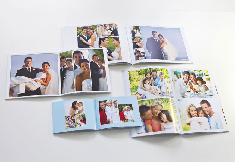 Photo Book Large Portrait Soft Cover