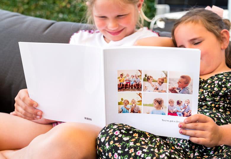 Fotoboek L vierkant - zachte fotokaft
