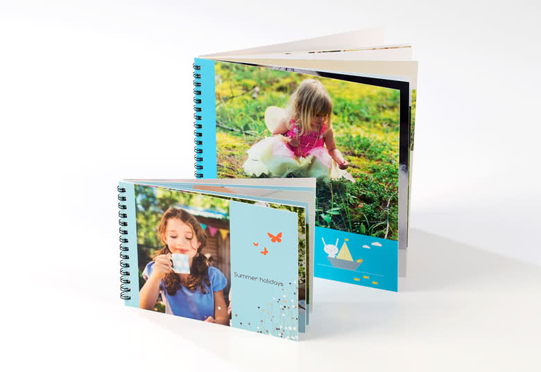 Photo Book Large Square Wire-o