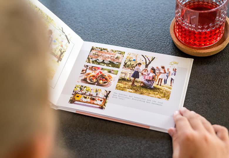 Fotobuch Medium Quer - Hardcover mit Foto
