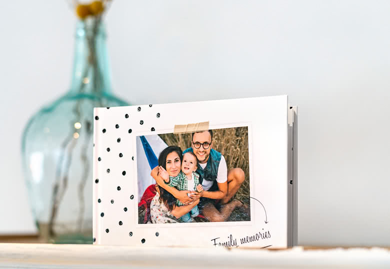 Fotoboek Medium liggend - harde fotokaft