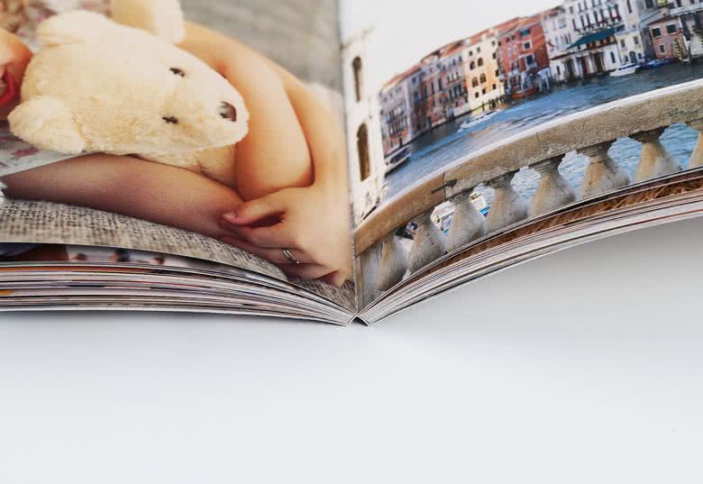 Papper 170 g och limmad bindning av hög kvalitet