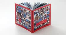 Collage sur la couverture souple reprenant les 52 photos sélectionnées