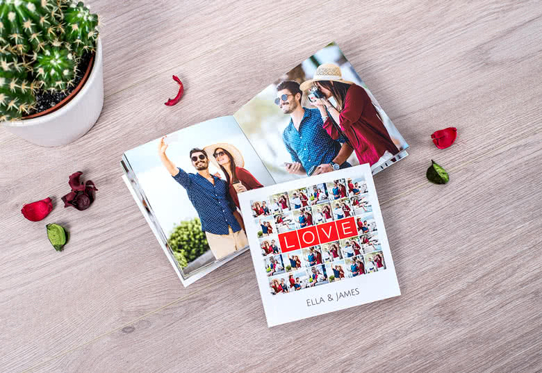 Make a Mini Square Photo Book